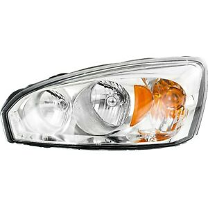 Headlight For 2004 2005 2006 2007 2008 Chevrolet Malibu Left With Bulb