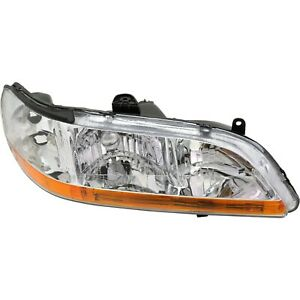 Headlight For 2001 2002 Honda Accord Dx Value Package Lx Ex Models Right