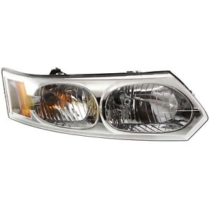 Headlight For 2003 2004 2005 2006 2007 Saturn Ion Right With Bulb