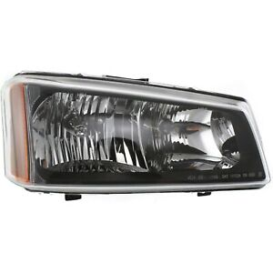 Headlight For 2003 2006 Chevy Silverado 1500 3500 Right Smooth Reflector