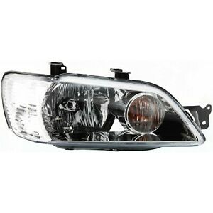 Headlight For 2002 2003 Mitsubishi Lancer Right Clear Lens With Bulb