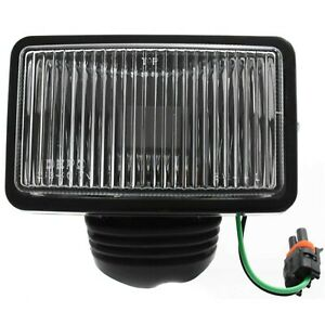 Clear Lens Fog Light For 87 95 Jeep Wrangler yj Lh Or Rh Capa W Bulb