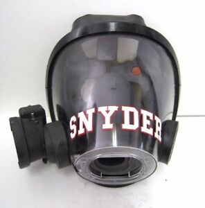 Scott Av3000 Facepiece Scba Fire Fighter Mask Large W voice Scott Amplifier