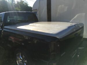 99 07 6 6 Short Bed Tonneau Cover Chevy Silverado Gmc Sierra Truck Flat Topper