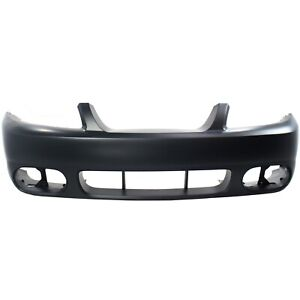 New Primered Front Bumper Cover For 2003 2004 Ford Mustang Cobra 2r3z17d957ba