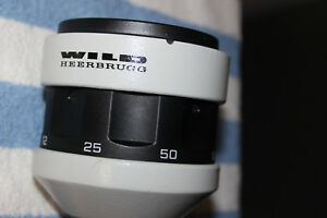 Wild Stereo Microscope Magnification From M5a Power Magnification 6 To 50x
