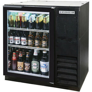 Beverage Air Bb36g 1 b Back Bar Cooler