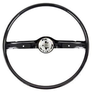 68 69 Ford Mustang Steering Wheel Only Black