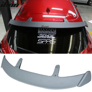 Fits 14 17 Mazda 3 5dr Hatchback Ae Style Rear Roof Spoiler Wing Abs