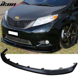Fits 11 15 Toyota Sienna Le Model Only Front Bumper Lip Abs