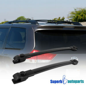 For 11 18 Toyota Sienna Cross Bars Roof Top Luggage Cargo Carrier Rack Aluminum