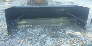 New 10 Skid Steer tractor Loader Snow Box Pusher Plow Blade Cat Case Holland