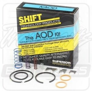 Ford Aod Transmission Superior Shift Kit 1980 92