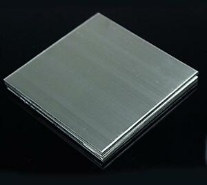Us Stock 3mm X 5 X 5 304 Stainless Steel Fine Polished Plate Sheet