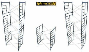 Metaltech Mason Scaffold Frame 6 4 h X 5 w Vanguard V lock Style Kit 10 Sections