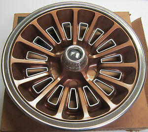 1979 Amc Concord Spirit Pacer Nos Alpaca Brown Wheel Cover Hub Cap 3234311