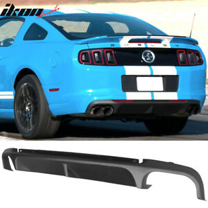 Fits 13 14 Ford Mustang Shelby Gt500 Super Snake Rear Bumper Diffuser Pp