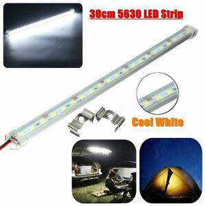 30cm 21led 5630 Smd Interior Strip Light Lamp Bar Car Van Boat Cabinet 12v