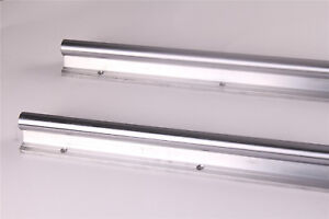 Sbr25 800mm Fully Supported Linear Rail Shaft Rod Guide Rail For Cnc 2x From Us