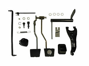 1967 Chevelle El Camino 4 Speed Clutch And Brake Pedal Kit
