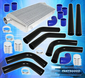 Turbo Front Mount Intercooler Beaded Flared Piping Kit Couplers T bolt Kit
