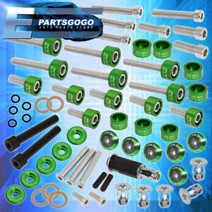 Cup Header Cam Cap Washers fender Washer Kit valve Cover Washer D series Green