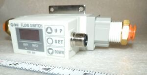 Smc Pf2a751 n04 27 Flow Switch If Pfa With Tubing Fittings 50 500 L