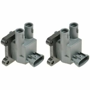 Ignition Coil Pair Set For 98 99 Chevy Prizm Toyota Corolla