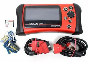 Snap On Solus Pro Scanner W 10 2 Software Keys No Power Supply
