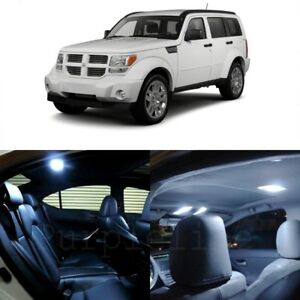 10 X White Led Interior Light Package For 2007 2012 Dodge Nitro Pry Tool