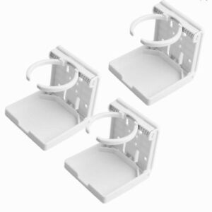 3x Adjustable Folding Cup Holder Drink Cup Holder For Car Rv Van Boat Yacht Usa