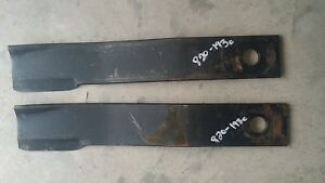 Set Of 2 Land Pride 820 193c Rotary Mower Blades Fits Over 15 Land Pride Models