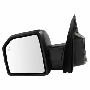 Mirror Power Heated Signal Blind Spot Spotlight Textured Black Left Lh For Ford