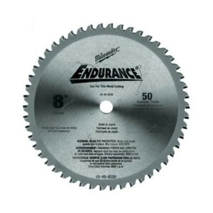 Milwaukee 48 40 4520 8 Metal Cutting Circular Saw Blade