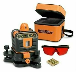 Johnson Level And Tool 40 6502 Manual leveling Rotary Laser Level