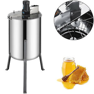 4 8 Frame Beekeeping Equipment Large Stainless Steel Electric Honey Extractor