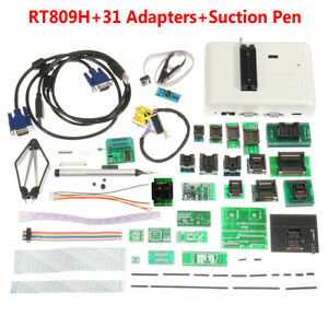 Rt809h Flash Programmer Emmc nand 31 Adapters With Cables Emmc nand suction Pen