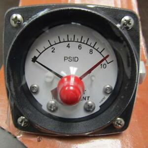 Midwest Instrument 120aa 00 am o 1 4 Fnpt Differential Pressure Gauge