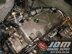 96 97 98 99 00 Honda Civic Sohc Non Vtec 1 5l Obd2 Engine Only Jdm D15b