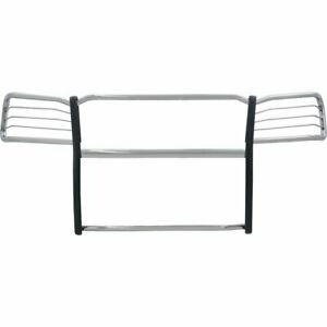 Aries Grille Guard New Polished For Nissan Pathfinder Titan 9046 2