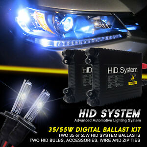 Ge Xenon Lights 35w 55w Slim Hid Kit For Honda Accord Cr V Cr Z City Civic