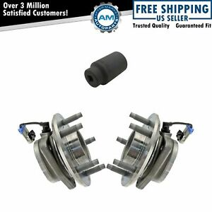 Front Wheel Hub Bearing Pair W 36mm Socket For Chevy Pontiac Saturn 5 Lug