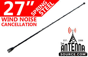 27 Black Spring Stainless Am fm Antenna Fits 2007 2010 Saturn Sky