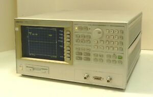 Hp 4291b 001 Rf Impedance material Analyzer 1 Mhz To 1 8 Ghz