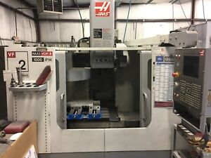 Used Haas Vf 2yt Cnc Vertical Mill Vmc 4th Axis Hi Speed Machining Low Hours