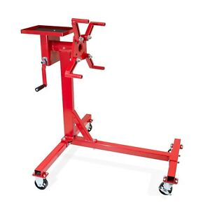 Jackco 1000 Lb Capacity Rotating Engine Stand With Tool Tray