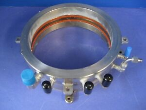 Thermco Expertech Fc 206004 Lp Cvd Front Flange Water Cooled 200 206mm Used