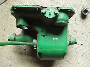 Oliver 66 Rowcrop Tractor Orginal Good Working Mechanical Lift Assembly Gear