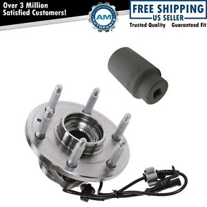 Front Wheel Hub Bearing Assembly W 36mm Socket For Chevy Gmc Cadillac 4x4