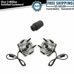 Front Wheel Hub Bearing Left Right Pair W 36mm Socket For Chevy Gmc